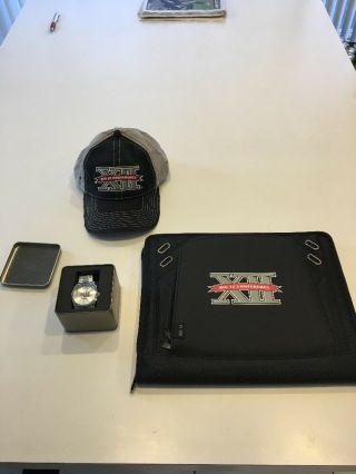 Team Issued Big Xii Post Season Package Watch Briefcase Hat Texas Longhorns