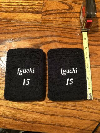 Tadahito Iguchi Chicago White Sox Game Issued Wristbands