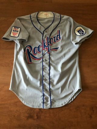 Rockford Royals Game Minor League Jersey Very Rare Only Two Seasons