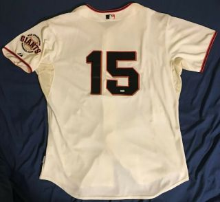 Bruce Bochy 15 2013 Game San Francisco Giants Jersey W/mlb Authentication