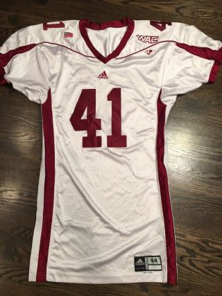 Game Worn Mexico State Aggies Football Jersey Adidas 41 Size 44