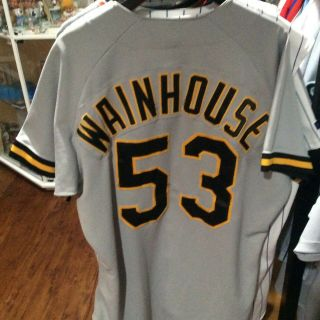 Dave Wainhouse Game Worn/used/issued 1995 Pittsburgh Pirates Jersey