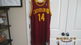 Cleveland Cavaliers Henry Sims Nba Game Worn Game Cavs Jersey 2013 3xl,  4