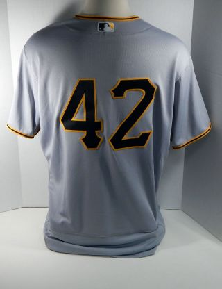 2017 Pittsburgh Pirates Gerrit Cole 45 Game Jackie Robinson Day Jersey