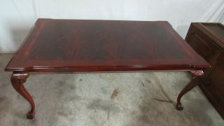 Thomasville Flame Mahogany Dining Room Table Chippendale 2