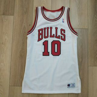 Bj Armstrong Chicago Bulls Jersey Pro Cut Champion 44,  3