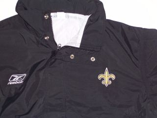 Jacket And Pant,  Coaches Game Issued Sideline Waterproof Rain Suit - Saints