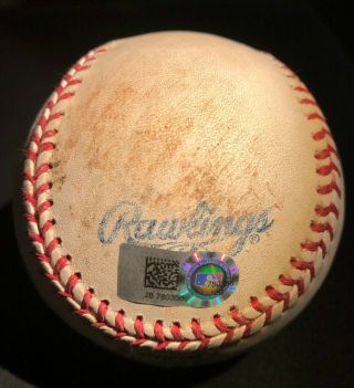 2016 Chicago Cubs Game Willson Contreras 11th Career Hit Ball All - Star