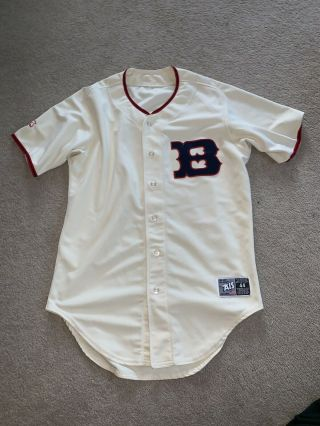 Boston Red Sox 7 Ais Game Worn Mens Jersey Size 44