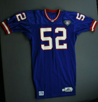1994 Jeff Mills York Giants Game Issued Apex Jersey Size 44 Not Worn