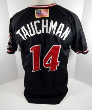 2018 Albuquerque Isotopes Mike Tauchman 14 Game Black Jersey