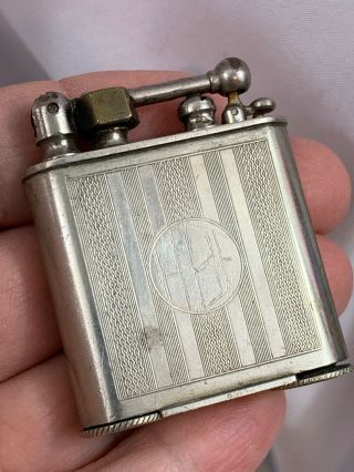Vintage Semi Automatic Douglass Pocket Lighter - Repaired