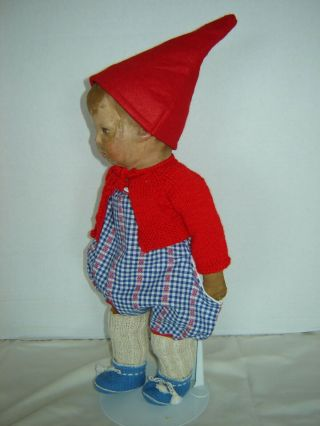 Antique 1st Series Kathe Kruse Doll Wide Hip Jointed