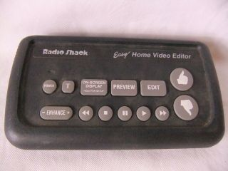 Radio Shack 1993 Easy Home Video Editor Vintage Vhs Editing