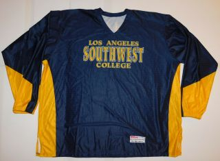 Game Worn Team Issued Los Angeles Southwest College 44 Basketball Jersey 3xl
