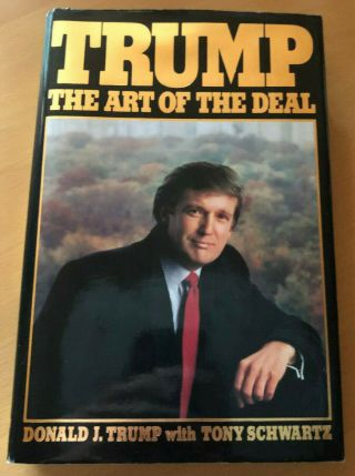 Donald Trump The Art Of The Deal 1st Edition 1st Printing First Vintage 1987