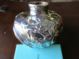 Tiffany & Co Sterling Orchid Vase Louis Comfort Tiffany