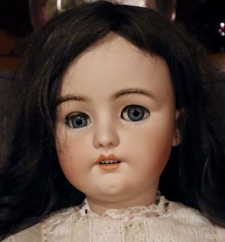 """Rare 34 """" Antique C1890 Simon Halbig 1078 Extremely Large Doll"""