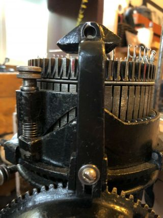 Antique Legare 400 Knitting Circular Sock Machine Csm Knitter