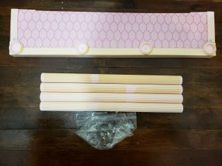 Barbie Magical Mansion Replacement Part - - 1st Floor Front Step With Pillars