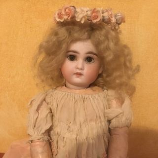 Sonnenberg 183 Doll Antique And Rare No Steiner Jumeau Bru