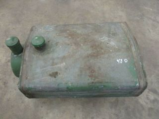 1948 John Deere Styled D Gas Tank Antique Tractor