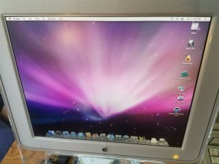 Apple Studio Display 17 Inch Monitor Vintage Macintosh Powermac Mac G5