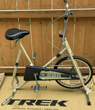 Vintage Dp 225 Fit For Life Exercise Stationary Bike 1970