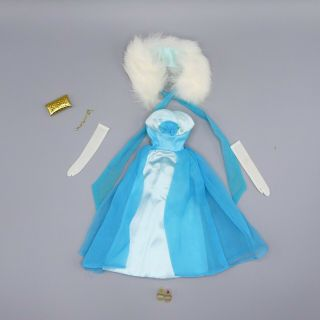Vintage Barbie Debutante Ball Fashion 1666 From 1966 - 67 Complete Exc