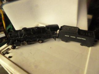 Lionel 1120 Steam Locomotive And York Central Tender O Scale Vintage