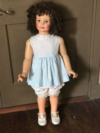 Vintage Rare Brunette Patty Playpal From 1950's - 1960.