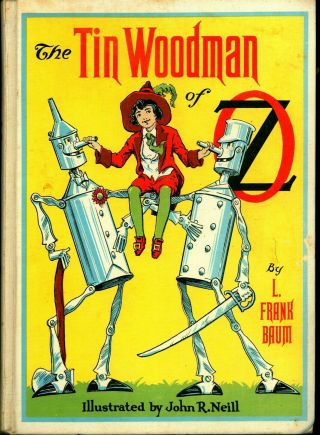 The Tin Woodman Of Oz - Illustr By John R Neill