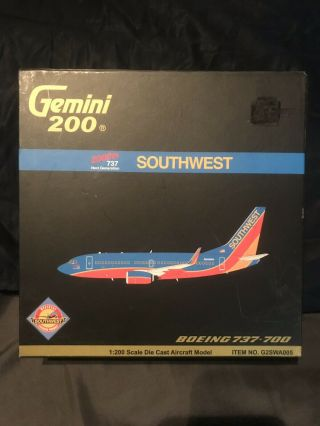 Gemini Jets 1:200 Southwest Airlines 737 - 700 G2swa005