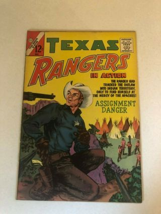Vintage May 1963 Charlton Comics Texas Rangers In Action Comic Issue No.  39