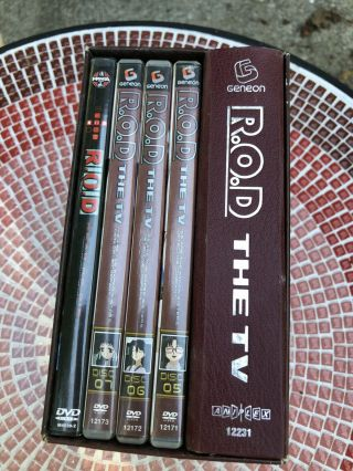 Vintage R.  O.  D The Tv Limited Collector's Edition Dvd Set 7 - Complete