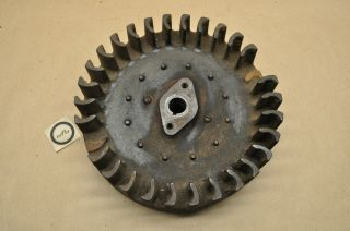 Vintage Briggs Stratton Model Zz Hit & Miss Engine Motor Rotor Flywheel