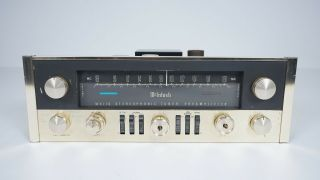 Mcintosh Mx110 Vacuum Tube Stereo Fm Tuner Preamplifier - Vintage