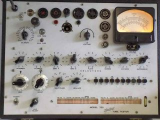 Looks Almost Hickok 752 Transconductance Tube Tester Calibrated,  Lubed