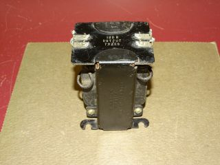 Western Electric Type 120b Output Transformer,  For 40a And 25b Tube Amplifiers