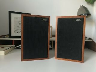 Rogers Bbc 15 Ohms Ls3/5a Bookshelf Speakers Monitor ☆ Early Serial ☆ Gold Label