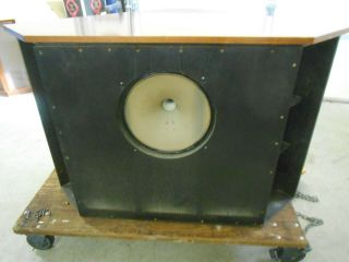 Tannoy 15  Silver Dual Concentric Ls Speaker And Crossover Type Lsu/hf/15l