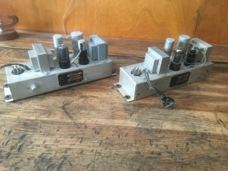 Pair Northern Western Electric R4044b Tube Amplifier Preamplifier