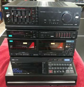 Sansui A - M90,  D - M70w,  T - M70 Compu Edit System W/ Demo Video