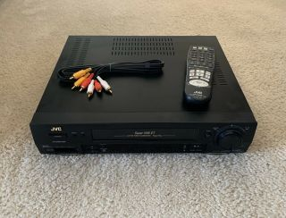 Jvc Vhs Et Video Calibration S - Vhs Vcr Model Hr - S3500u With Remote