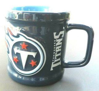 1999 Tennessee Titans Coffee Mug Embossed Cup Official Nfl Product Euc