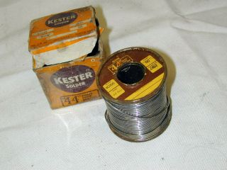 Kester Western Electric 44 Tube Amplifier Preamp Rosin Core Solder Wire [nos]