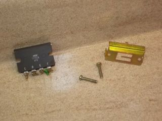 One Pioneer Sx - 1980 Stereo Receiver Nec Output Transistor Part D746a