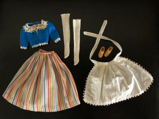 Vintage Barbie In Holland Ensemble 823 (1964) Doll Clothing