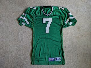 1993 York Jets Boomer Esiason Authentic Champion Game Issued Jersey Signed