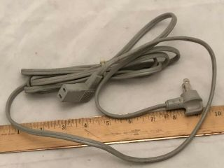 Studer Revox Reel Tape Recorder Power Cord Pr99 A710 B77 A77 2 - Prong Cable